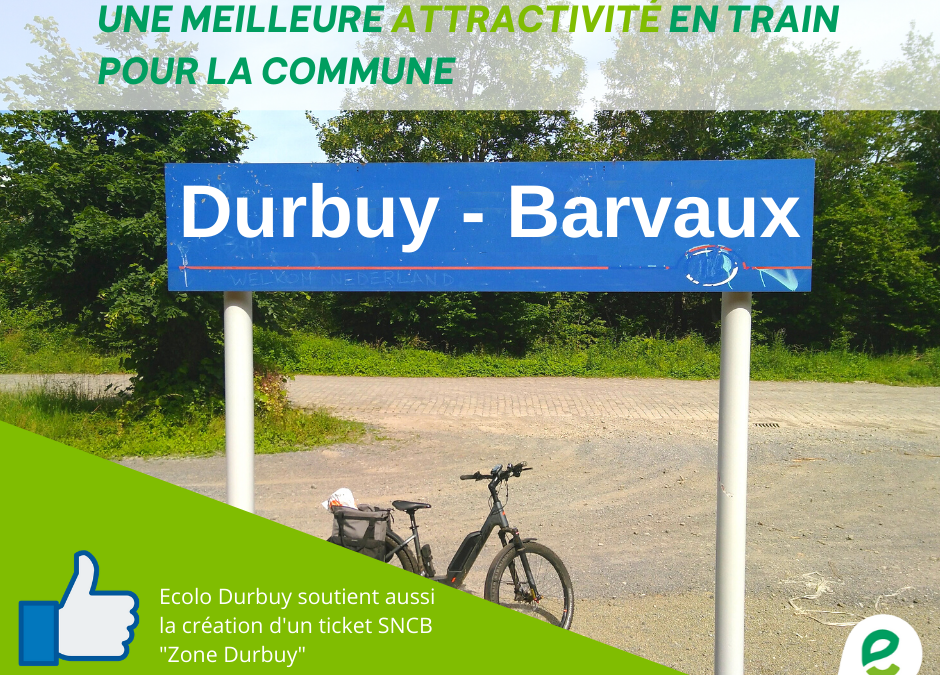 Barvaux-Bomal-Durbuy & Zone SNCB Durbuy